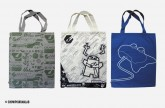 ooito canvas bags x 3