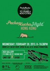 PechaKucha Night HK - Wed Feb 20, 2013 > 10 Years