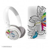 Philips headphones and case - paint-by-numbers